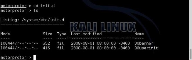 Create a Persistent BackDoor in Android Using Kali Linux – ls /blog