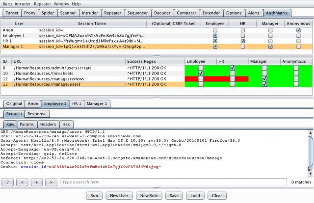 AuthMatrix for Burp Suite – ls /blog
