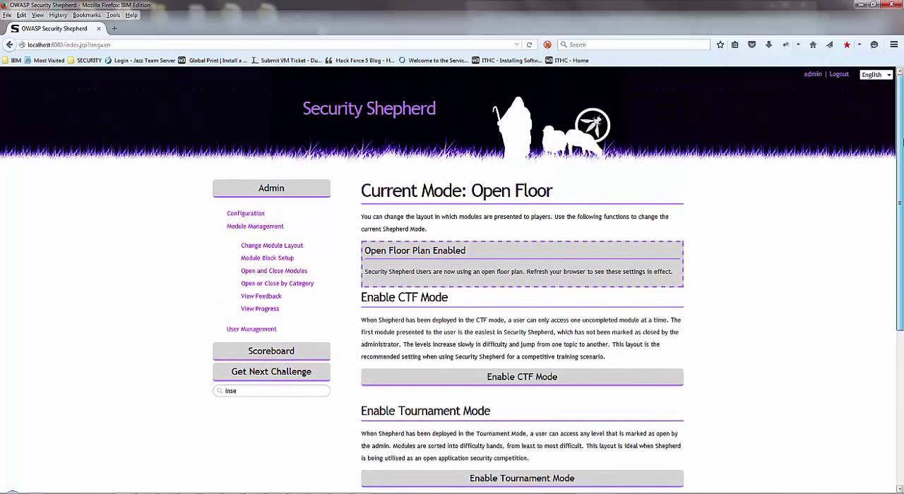 Security Shepherd Solutions – ls /blog