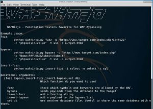 WAFNinja - Web Application Firewall Attack Tool - WAF Bypass